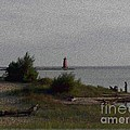 Manistique Light by Charles Robinson