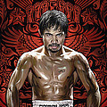 Manny Pacquiao Artwork 1 by Sheraz A