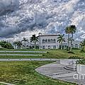 Mansion At Tuckahoe In Jensen Beach Florida by Olga Hamilton