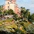 Mansion Of King Zogu  by Sefedin Stafa