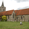 Manuden Church by Ted Denyer