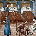 Manuscript Gaddiano Circa 1542. Doctors by Everett