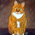 Manx Cat by Terri Mills