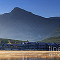Many Glacier Hotel by Mark Kiver