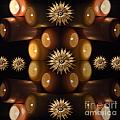 Many Lit Candles by Tina M Wenger