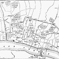 Map: London, 13th Century by Granger