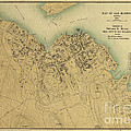 Map Of Bar Harbor Maine 1896 by Edward Fielding