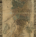Map Of Boston 1852 by Andrew Fare