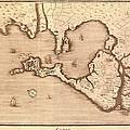 Map Of Cadiz By Antonio Ponz 1794 by Everett