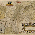 Map Of Gelderland And Cleves by British Library