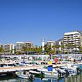 Marbella Marina In Spain by Artur Bogacki