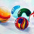 Marbilicious by Beverly Fagan Gilbertson