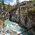 Marble Canyon In Kootenay Np-bc  by Ruth Hager