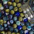 Marble Collection Jar 1 A by John Brueske