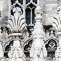 Marble Facade II Duomo Di Milano Italia by Sally Rockefeller