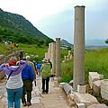 Marble Way In Ephesus-turkey by Ruth Hager
