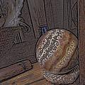 Marbled Ball by Lovina Wright