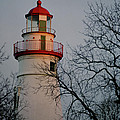 Marblehead Lighthouse On Lake Erie  by John Harmon
