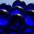 Marbles Blue 1 C by John Brueske