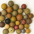 Marbles Clay 1 by John Brueske