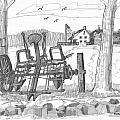 Marbletown Farm Equipment by Richard Wambach