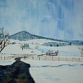 March Snow On Mole Hill - Sold by Judith Espinoza