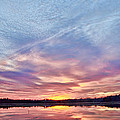 March Sunset At Whitesbog by Beth Sawickie