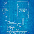 Marconi Radio Patent Art 1897 Blueprint by Ian Monk