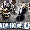Mardi Gras Artwork by Ray Devlin