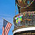 Mardi Gras Balcony by Steve Harrington