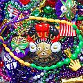 Mardi Gras Beads 1 by William Tegtmeyer
