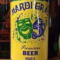 Mardi Gras Beer 1983 by Deborah Lacoste