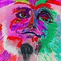 Mardi Gras Face by Richard Ian Cohen