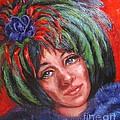 Mardi Gras Girl by Beverly Boulet