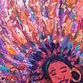 Mardi Gras Girl Revisited by Anne-Elizabeth Whiteway