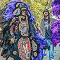 Mardi Gras Indian by Steve Harrington