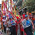Mardi Gras In New Orleans by Luana K Perez