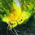 Mardi Gras On Green by Alys Caviness-Gober