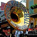 Mardi Gras Preservation Hall Photo Artistic by Luana K Perez