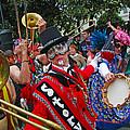 Mardi Gras Storyville Marching Group by Luana K Perez