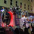 Mardi Gras Vampire Float  2 by Marian Bell