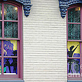Mardi Gras Windows by Living Color Photography Lorraine Lynch