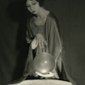 Margaret Severn With An Orb by Alexander Milne