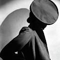 Margot Gaylor Wearing A Schiaparelli Beret by Horst P. Horst