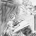 Marguerite Gerard Sketching by Horacio Prada