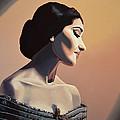 Maria Callas Painting by Paul Meijering