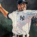 Mariano Rivera - New York Yankees by Michael  Pattison