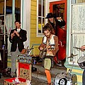 Marigny Musicians by Ed Weidman