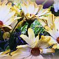 Marigold Blooms by Carol  Hynes
