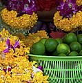 Marigolds And Limes by Rick Piper Photography